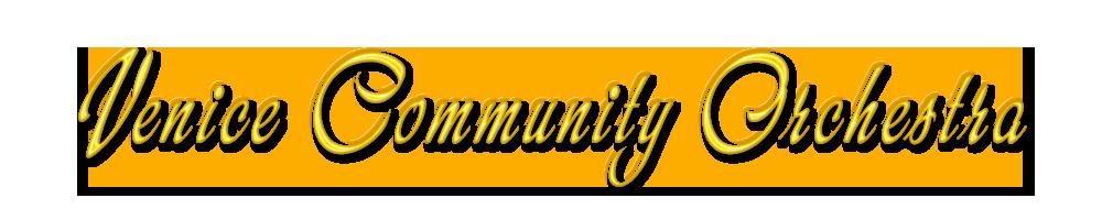Venice Community Orchestra Logo
