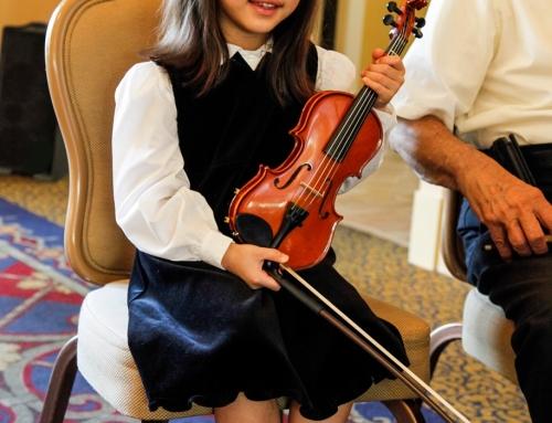 Our Littlest Musician